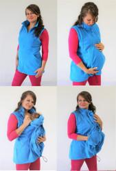 FLEECE - těhotenská, nosící, normal VESTA - VF75TN
