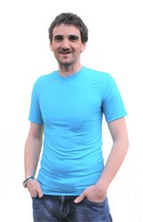 LETNÍ MERINO - Tričko, krátký rukáv, výstřih V - MPLTV072