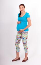 Těhotenské 3/4 legíny - GEOMETRICKÉ TVARY - GOT2LTP80