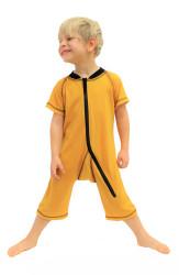 Letní merino - rostoucí overal krátký rukáv a nohavičky - MERL1OVER