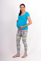 Těhotenské DLOUHÉ legíny - VZORY - T3LTP95