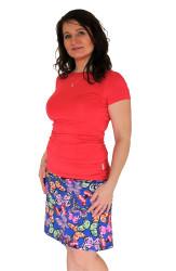 2v1 Těhotenská a normal sukně - RŮZNÉ VZORY - TSALKYT50