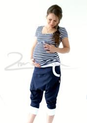 BAVLNA - Těhotenské turecké kraťasy - TKAU2L