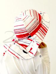 ROSTOUCÍ klobouček PAMPALÍNY, 100%Bavlna - Námořnický