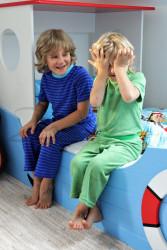 BAMBUS - Rostoucí pyžamo, kr. rukáv, 3/4 nohavice - BA2PYFR