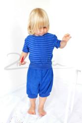 BAMBUS - Rostoucí pyžamo krátké rukávy a nohavice - BA1KRPYFRP