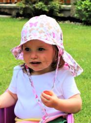 ROSTOUCÍ klobouček PAMPALÍNI, 100%Bavlna - MOTÝLCI