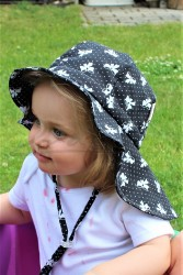 ROSTOUCÍ klobouček PAMPALÍNI, 100%Bavlna - MAŠLIČKY