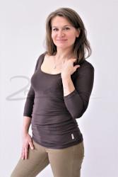 LETNÍ MERINO - tričko 3/4 ruk. - MLTU270