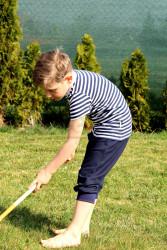NÁMOŘNÍ - Rostoucí tričko krátký rukáv - BAT1NAM