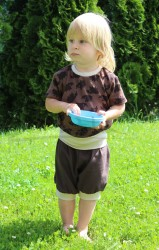 JEŽEK - Rostoucí tričko krátký rukáv - BAT1JE