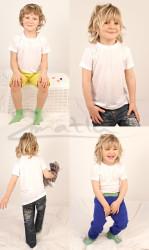 JEDNOBAREVNÉ - Rostoucí tričko krátký rukáv - BAT1