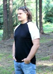 LETNÍ MERINO - Tričko, krátký raglan rukáv - MPLTR072