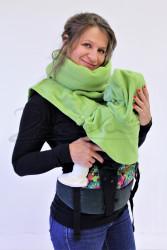 FLEECE - Dělitelný nákrčník se dvěma kuklami pro miminko ve dvou velikostech
