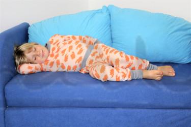 Rostoucí pyžamko z MERINA - JEŽEK - MERPYZJE