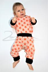 Rostoucí pyžamko z MERINA - HVĚZDY - MERPYZHVEZ