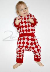 Rostoucí pyžamko z MERINA - KÁRO - MERPYZKAR
