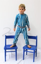Rostoucí pyžamko z MERINA - RÁKOS - MERPYZRAK