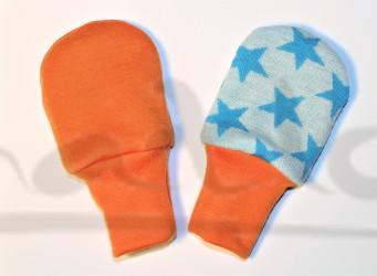 Dvojité oboustranné rukavičky - HVĚZDY - MERDRUKHVZ