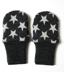 Dvojité oboustranné rukavičky - HVĚZDY na barevném podkladu - MERDRUKHV