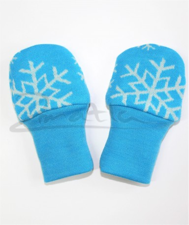 Dvojité oboustranné rukavičky - VLOŽKY na barevném podkludu - MERDRUKVL