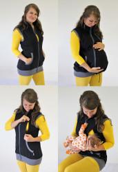 TEPLÁKOVINA - těhotenská, kojící, normal VESTA - VV75KTN