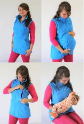 FLEECE - těhotenská, kojící, normal VESTA - VF75KTN