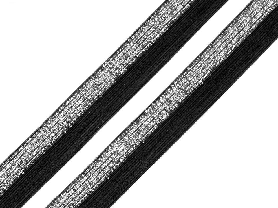 P5L - černá/lurex