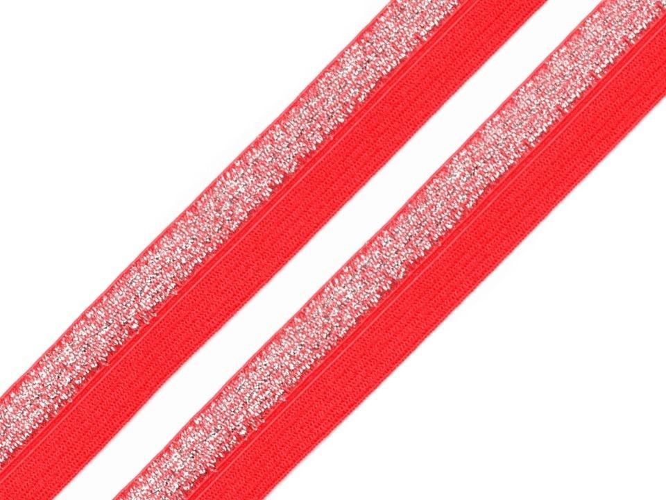 P10L-červená/lurex