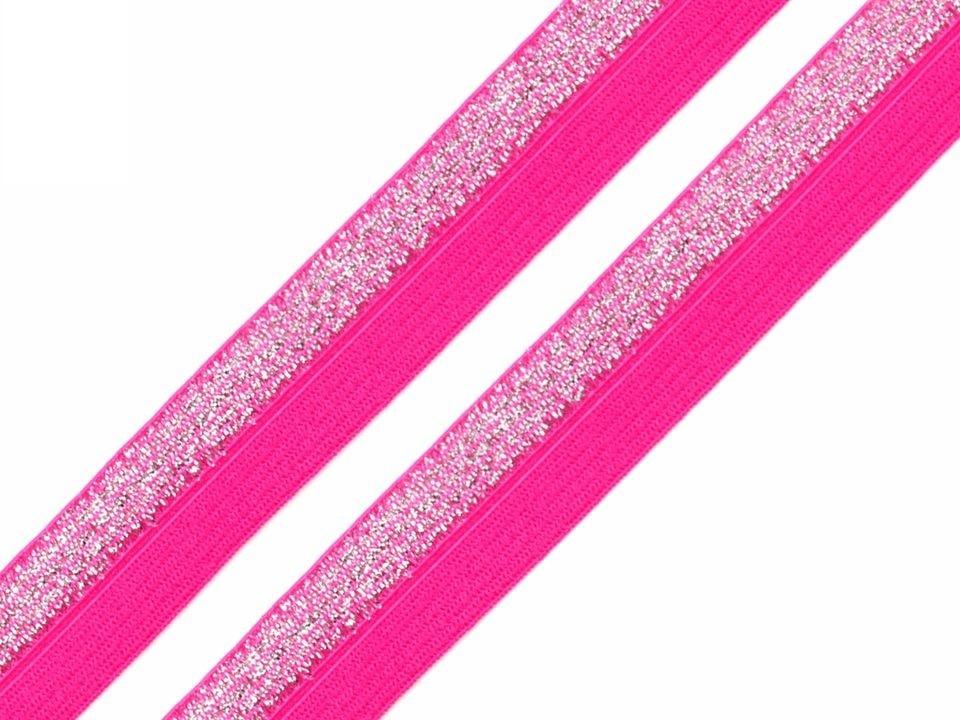 P8L-růžová/lurex