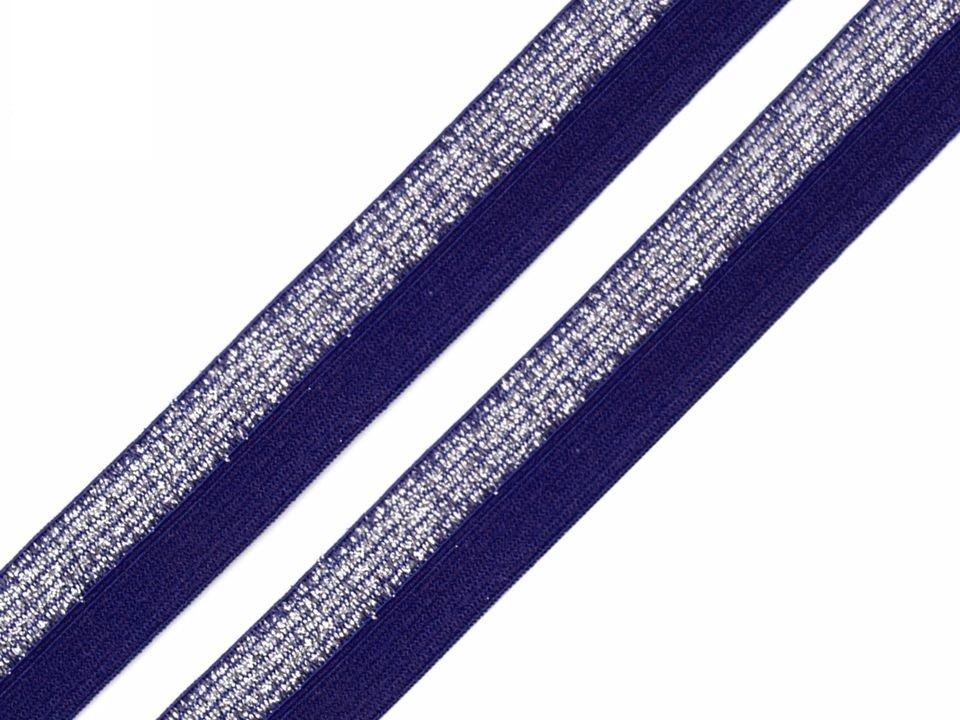 P14L-modrá lurex