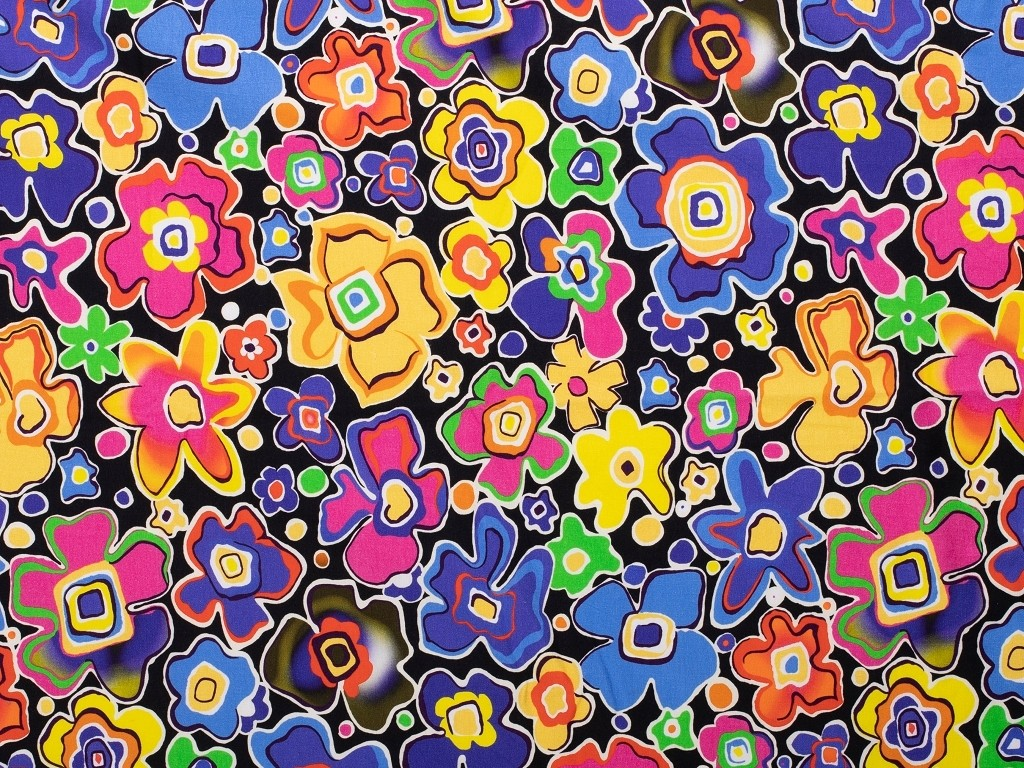 květy modř