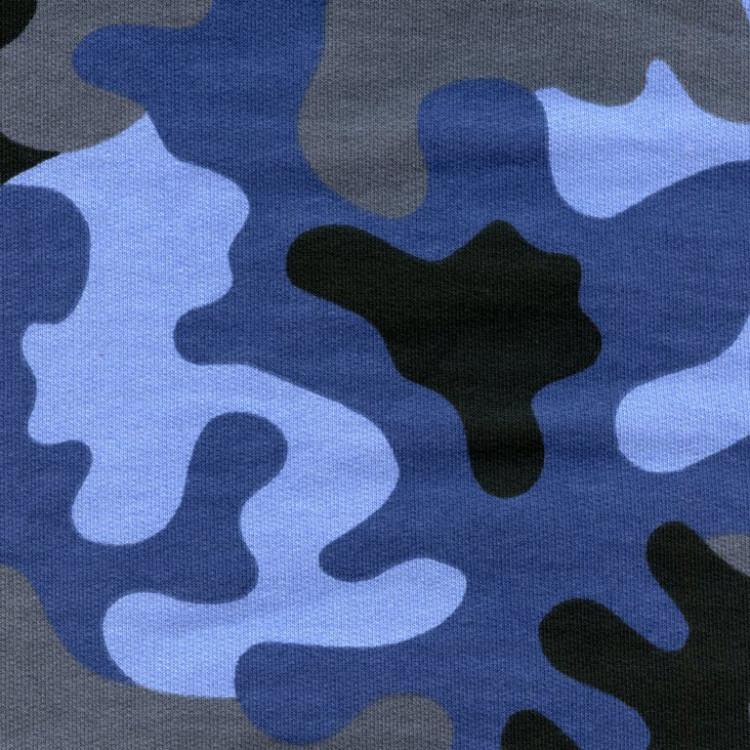 maskáč - modrá